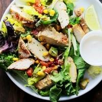 Grilled Chipotle Chicken Salad