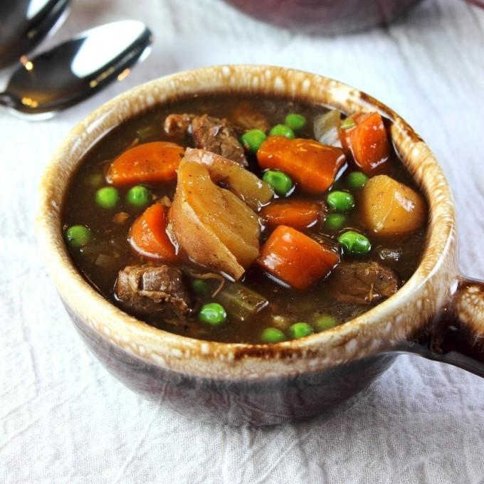 Guinness Beef Stew With Parsnips