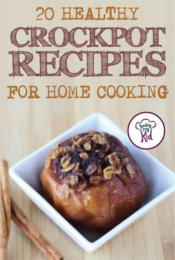 20 Healthy Crockpot Recipes for Home Cooking - From a crockpot pumpkin spice oatmeal recipe to a crockpot healthy sausage mediterranean quiche, these recipes are sure to please even the pickiest of eaters. This is a must pin and must share! #fmk #crockpot #Recipes