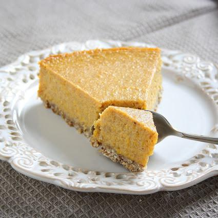 Healthy Pumpkin Honey Greek Yogurt Pie