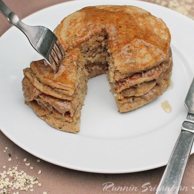 Hemp And Almond Pancakes