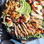 Mexican Grilled Chicken Cobb Salad