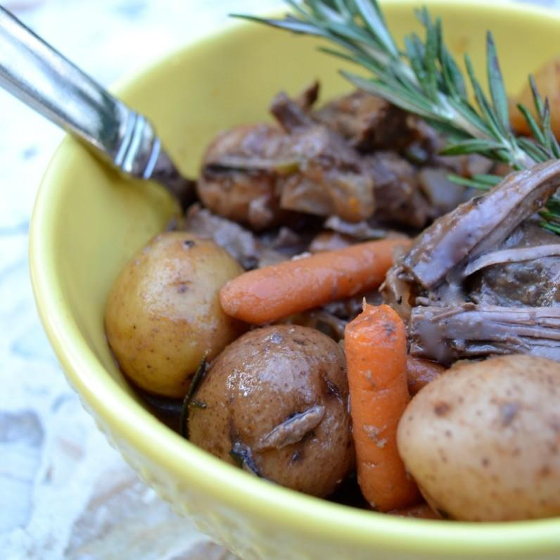 No Chop Slow Cooker Beef Stew