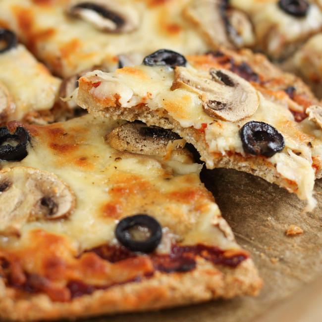 Oaty Gluten Free Pizza Crust