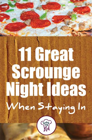 11 Great Scrounge Night Ideas When Staying In - This is a must share! For a night in, here are some great scrounge night ideas and recipes for you and the whole family when you're just scourging around. From an egg and sausage soufflé to a pizza dip; these are perfect meals for a perfect night in. #fmk #recipes