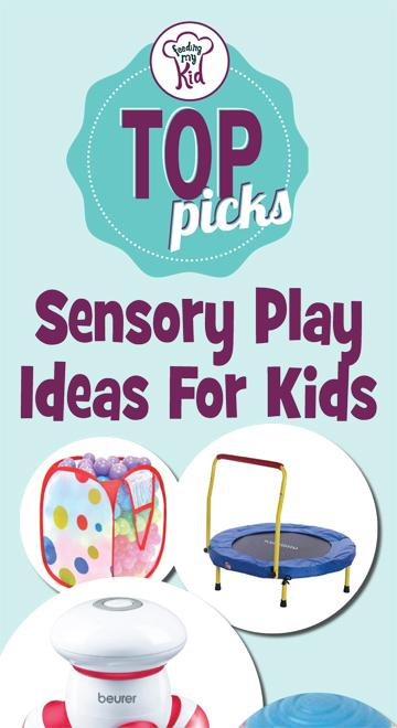 Top Picks: Sensory Play Ideas For Kids - Fun games can help your child with sensory processing disorder, which is why we put together this list of sensory games and books to help you and your child! So take a look. This is a must share! #fmk #games #sensoryprocessingdisorder