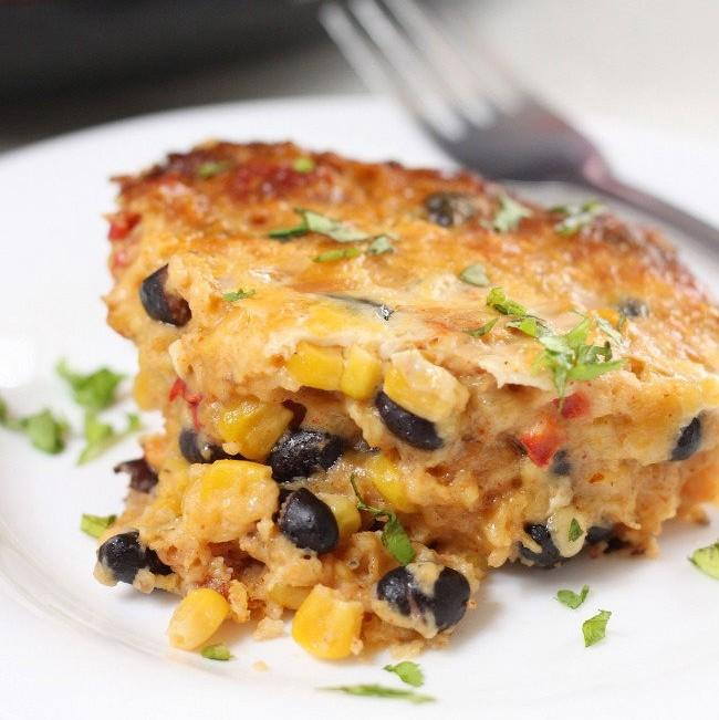 Slow Cooker Mexican Casserole