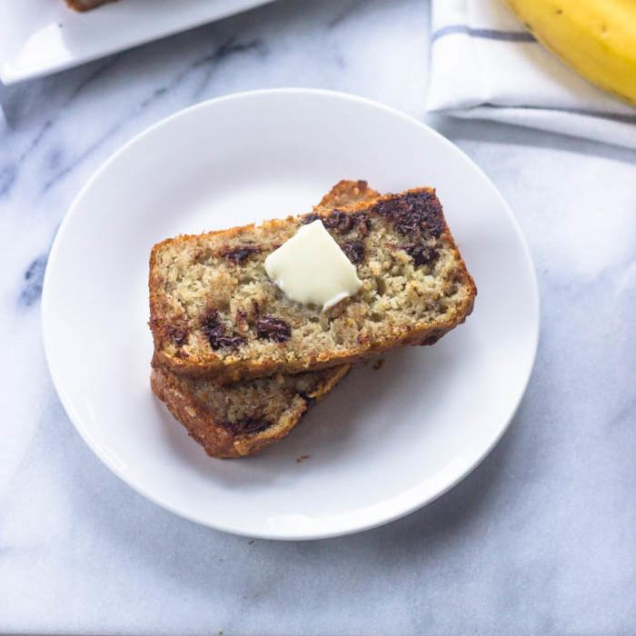 Super Moist Gluten Free Banana Bread