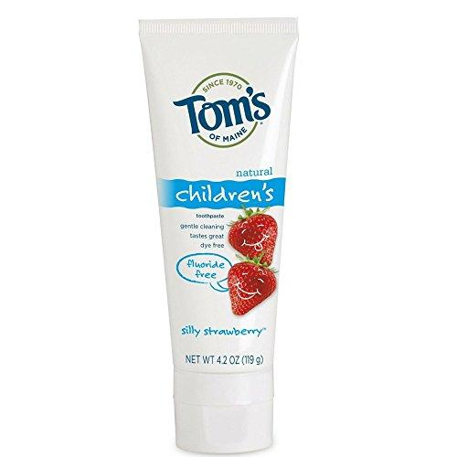 Tom's Of Maine Fluoride Free Children's Toothpaste, Silly Strawberry