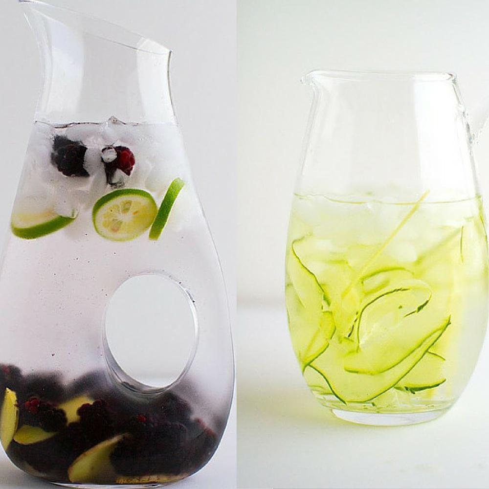 Cucumber Lemongrass And Blackberry Ginger Recipes