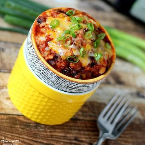 Vegetable Enchilada Casserole