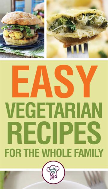 Try these amazing easy vegetarian recipes that the whole family will love. Meatless meals don't have to be boring or flavorless thanks to these recipes!