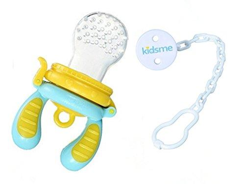 kidsme Baby Double Handle Nutrition Food Feeder with a Chain Buckle