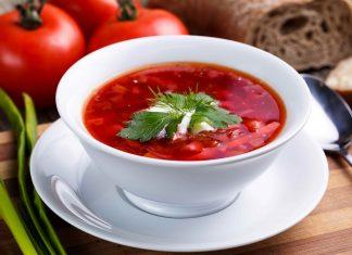 The best borscht soup! This is a family recipe handed down over three generations.