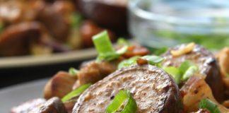 Cashew Eggplant Chicken Stir Fry