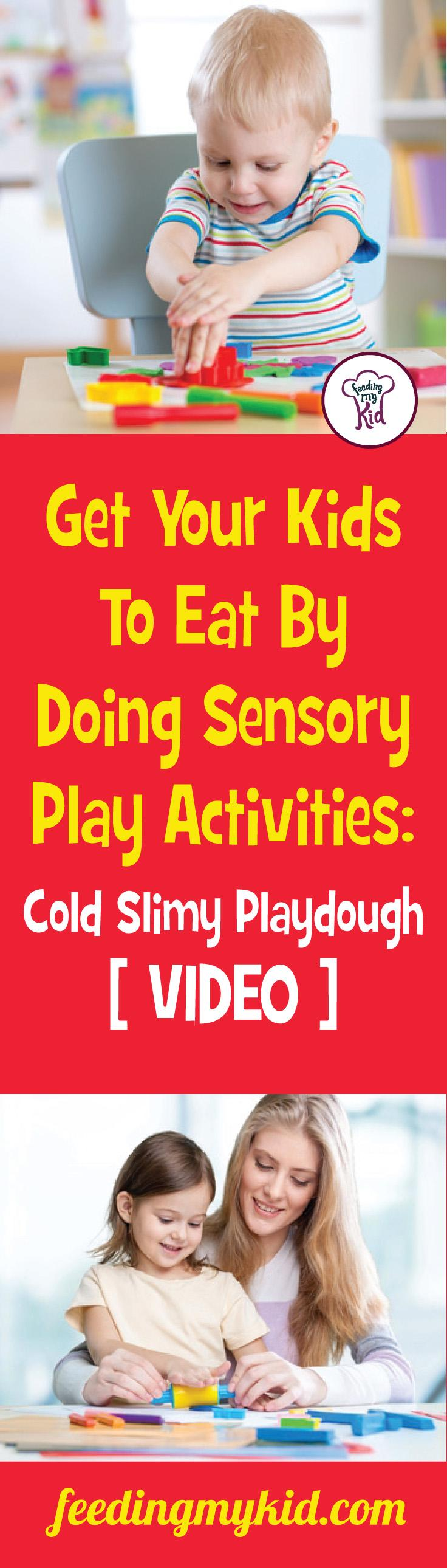 This is a must pin! Watch this video and get kids to play this great sensroy play activity! Feeding My Kid is a site filled with all the information you need on how to raise your kids and take care of your family; from healthy tips to nutritious recipes. We have everything you need! #videos #sensoryplay
