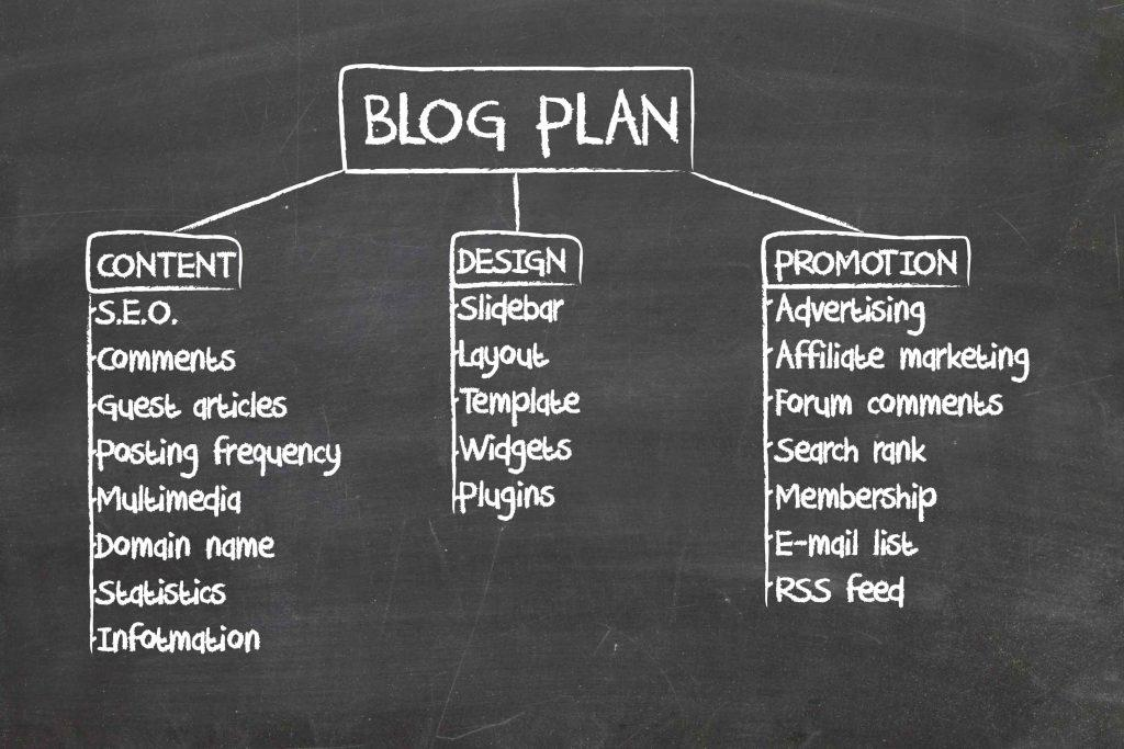 Feeding My Kid's Blog Marketing Plan