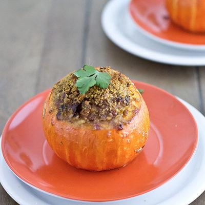 Lamb Meatloaf Baked In Mini Pumpkin A Vintage Recipe Remake
