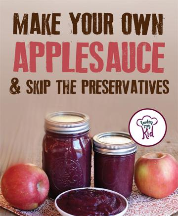 Find the perfect homemade applesauce recipes. Feeding My Kid is a great website for parents and nutrition buffs alike, filled with healthy recipes and ways to live a nutritious, healthy life.