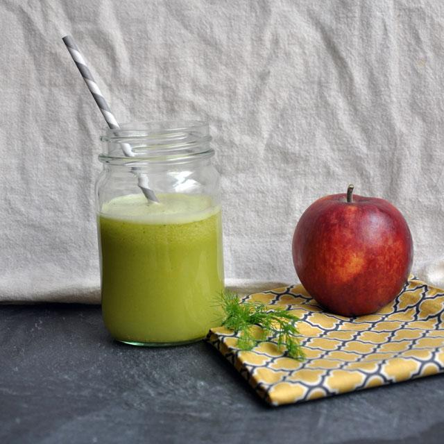 Minted Fennel Apple Juice