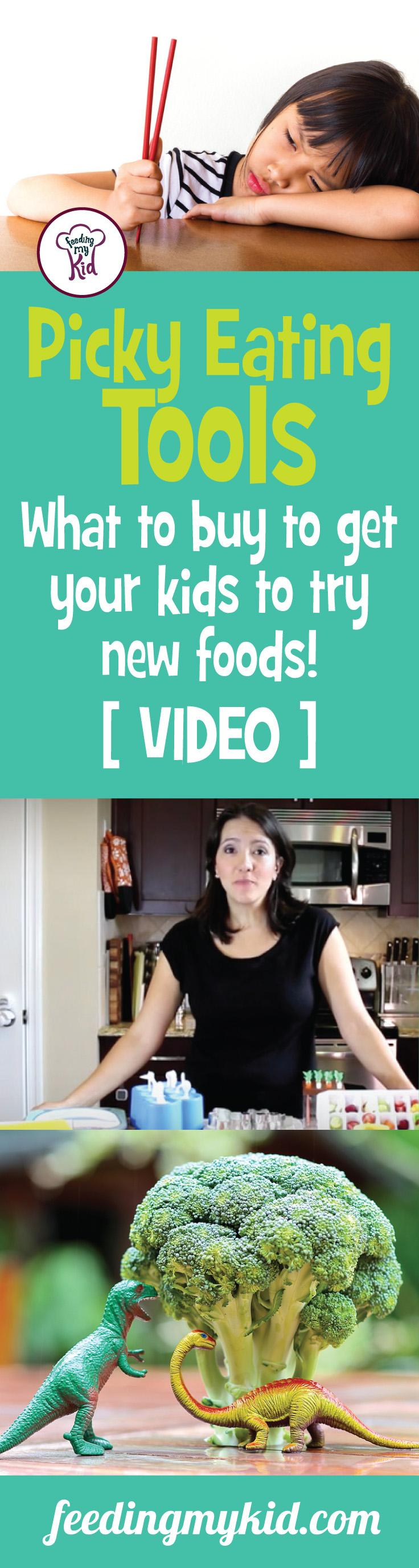 This is a must pin! Check out this great video about picky eating tools! This will help you get your kid to eat right again! Feeding My Kid is a site filled with all the information you need on how to raise your kids and take care of your family; from healthy tips to nutritious recipes. We have everything you need! #videos #pickyeating