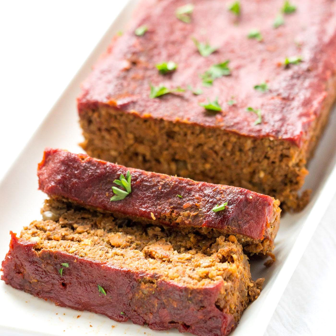 Vegan Lentil And Quinoa Meatloaf