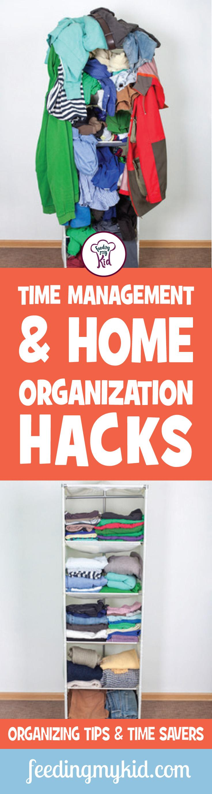 Check out this article for amazing videos and advice on diy organization and learn many organizing tips. Learn how to keep your house clean for good. Feeding My Kid is a website for parents, filled with all the information you need about how to raise your kids, from healthy tips to nutritious recipes. #organizing #parenting #tips