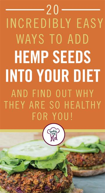 Find out how to add Hemp seeds to everyday foods with these great hemp seed recipes. Feeding My Kid is the perfect website for parents and nutrition buffs alike, filled with healthy recipes and ways to live a nutritious, healthy lifestyle.