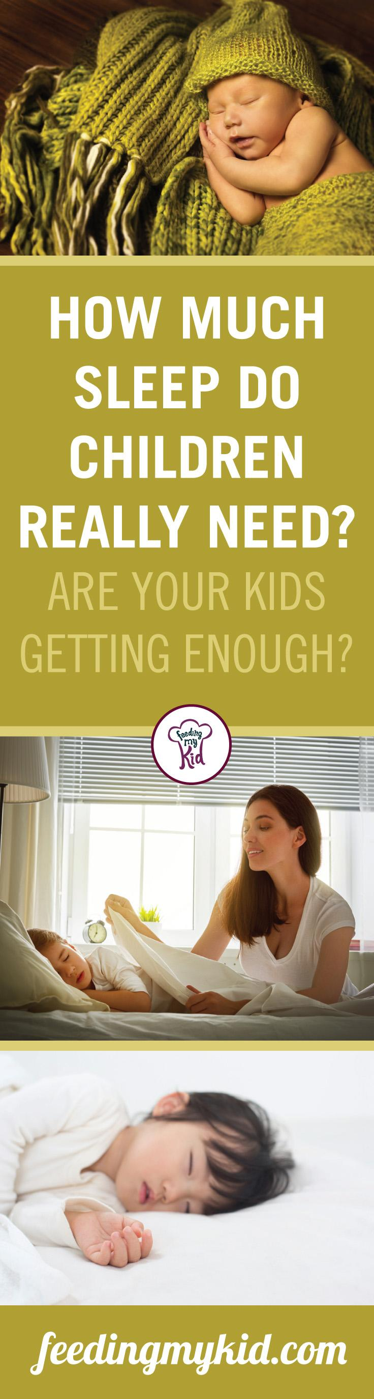 This is a must pin! We all know sleep is important! Is your child getting enough of it? Find out in this article about sleep! Feeding My Kid is a site filled with all the information you need on how to raise your kids and take care of your family; from healthy tips to nutritious recipes. We have everything you need! #childrenshealth #sleep