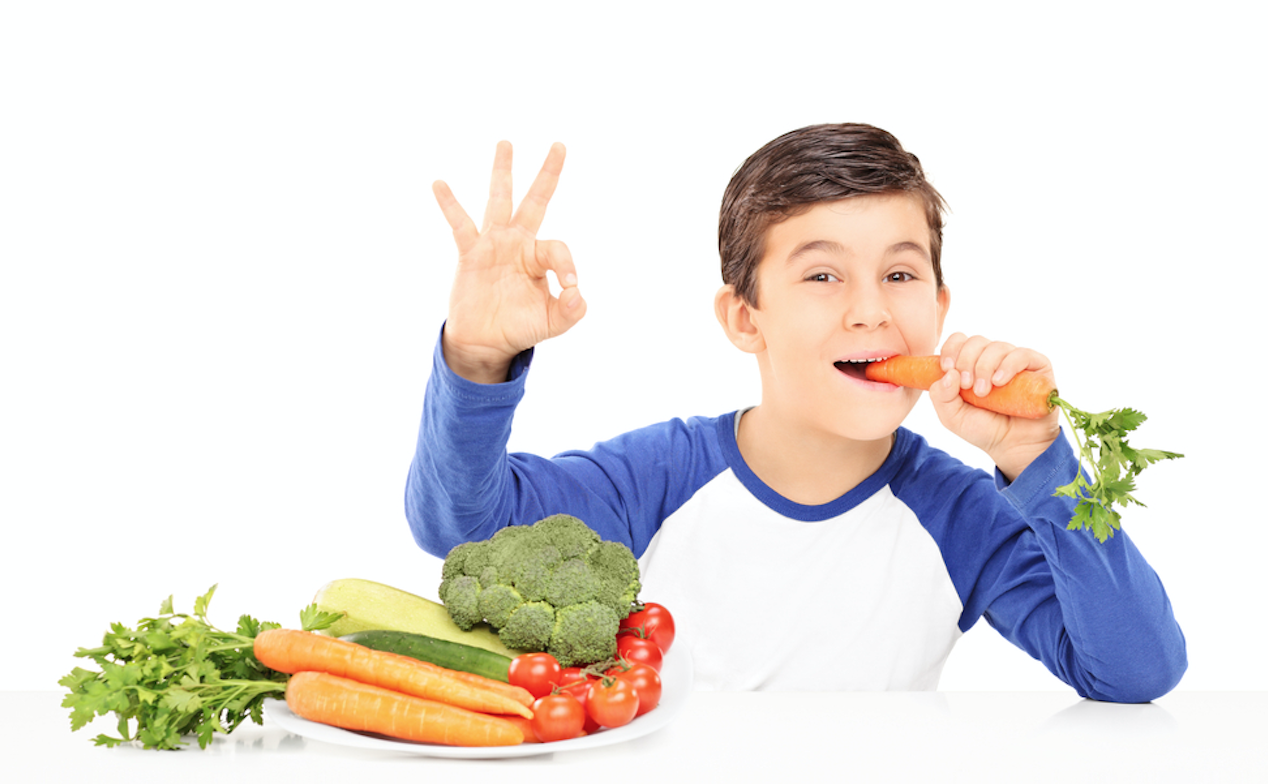 how to get kids to eat vegetables   - TEXT - 052 - EAT BETTER, LOOK BETTER