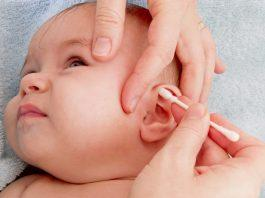 Cleaning Your Baby's Ears Doesn't Have to be Stressful. Try these easy steps.