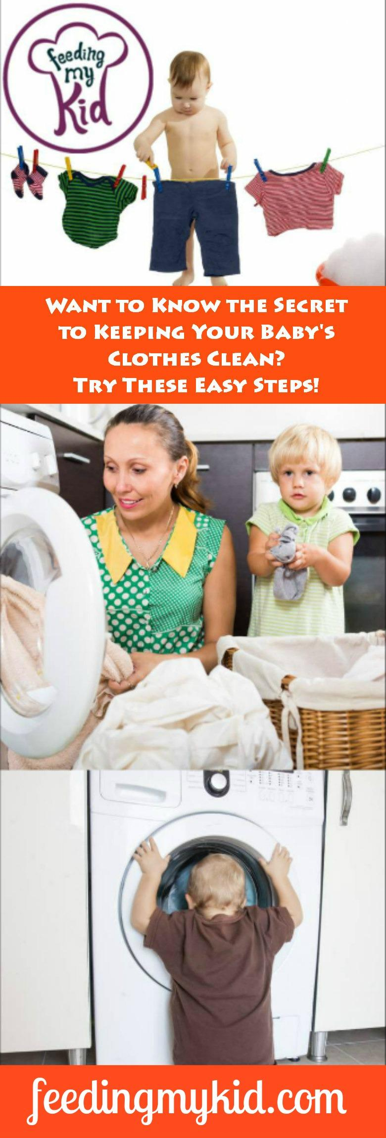 This is a must pin! In these videos you'll learn everything you need to know about washing baby clothes! Feeding My Kid is a website for parents, filled with all the information you need about how to raise your kids, from healthy tips to nutritious recipes. #videos #tips #hacks #washingbabyclothes