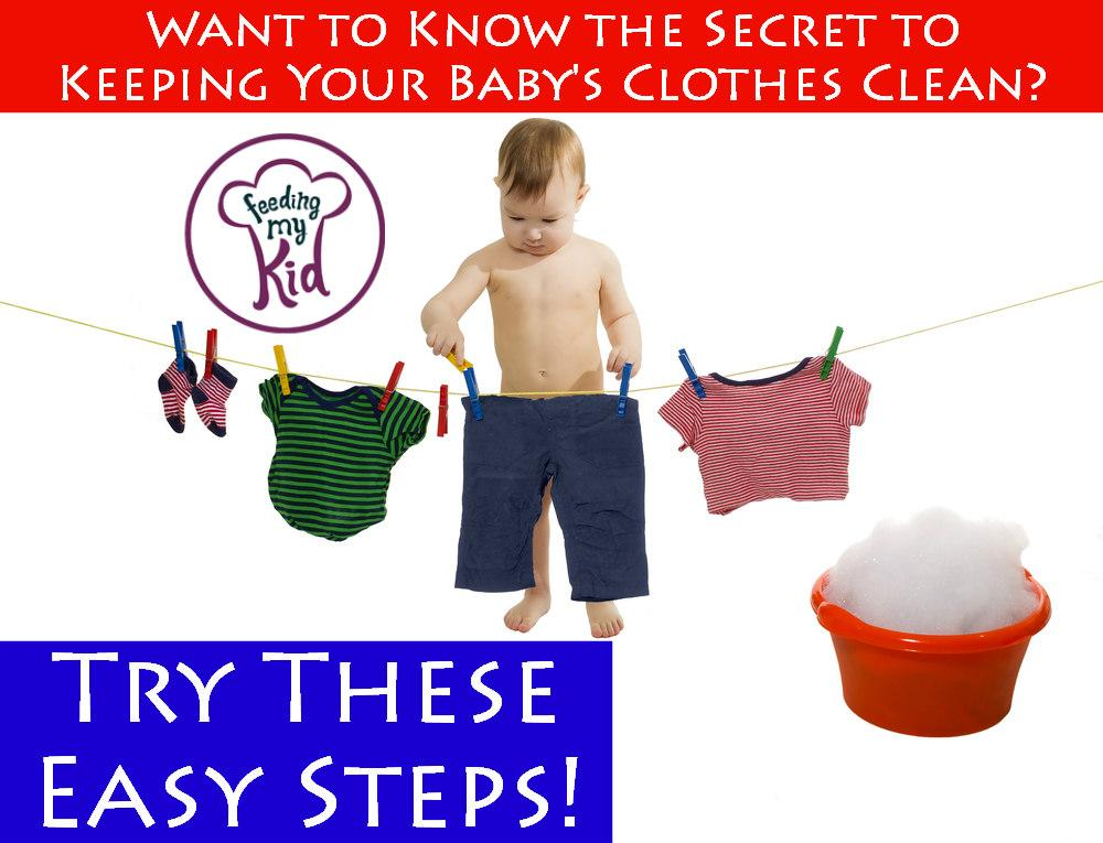 In these videos you'll learn everything you need to know about washing baby clothes! Feeding My Kid is a website for parents, filled with all the information you need about how to raise your kids, from healthy tips to nutritious recipes. #videos #tips #hacks #washingbabyclothes