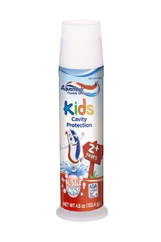 Aquafresh Kids Toothpaste, Bubblemint