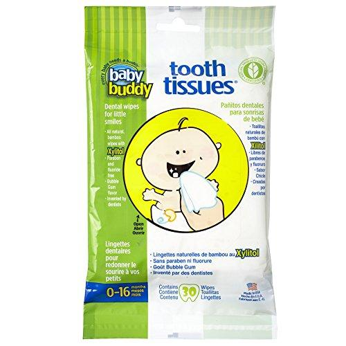Baby Buddy Tooth Tissues Stage 1 for BabyToddler