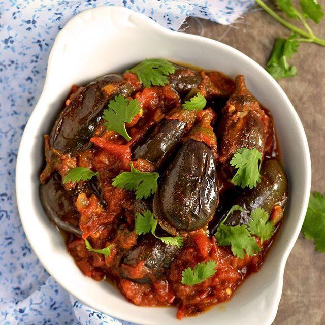 Baby Eggplant Curry