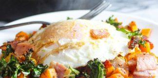 Bacon Kale And Sweet Potato Hash