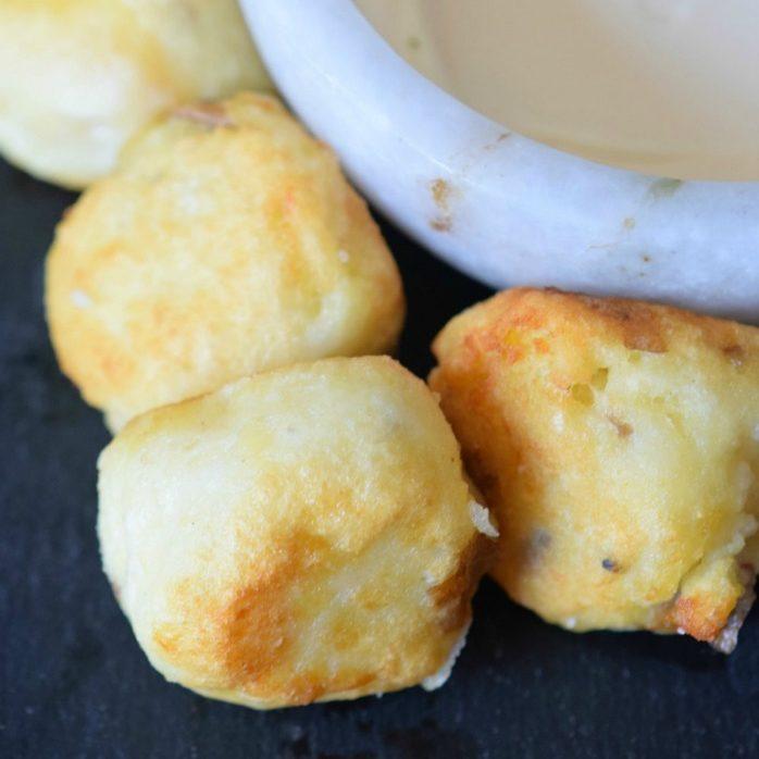 Cheesy Potato Bombs