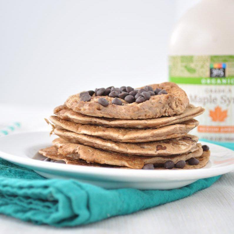 Chocolate Chip Chickpea Pancakes Recipe