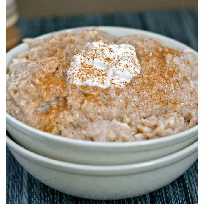 Cinnamon Bun Oatmeal