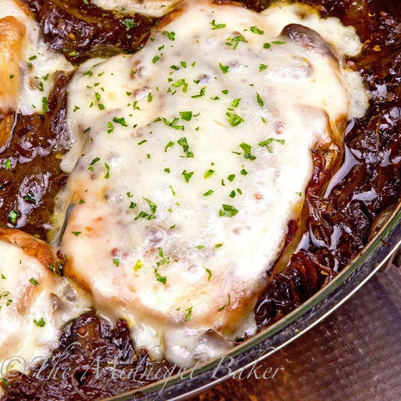 French Onion Soup Pork Chops. Not sure what you'll be having for dinner tonight? Don't worry! We've got you covered. These amazing pork chop recipes are perfect for dinner!