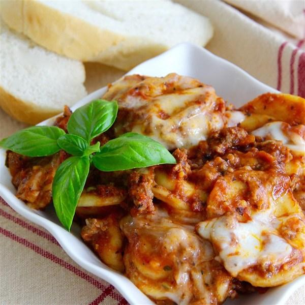 Randy's Slow Cooker Ravioli Lasagna Recipe