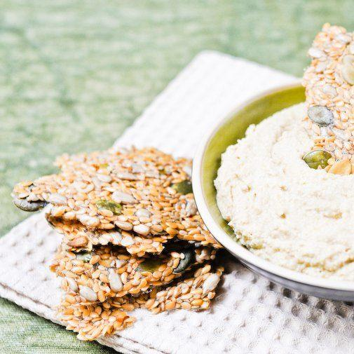 Raw Flax Seed Crackers Recipe