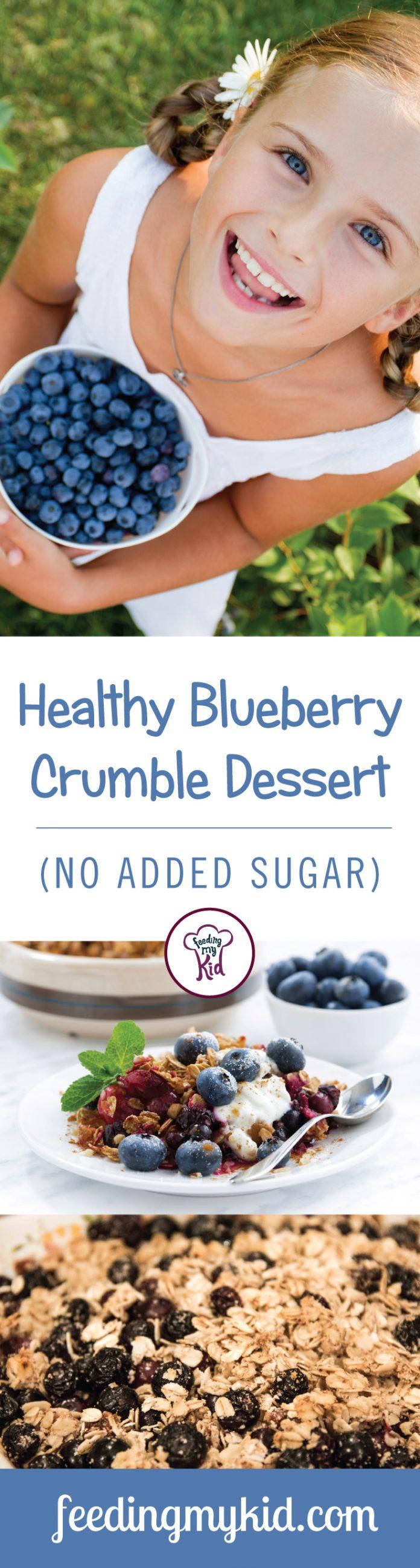 Blueberry Crumble Recipe - Easy Blueberry Desserts