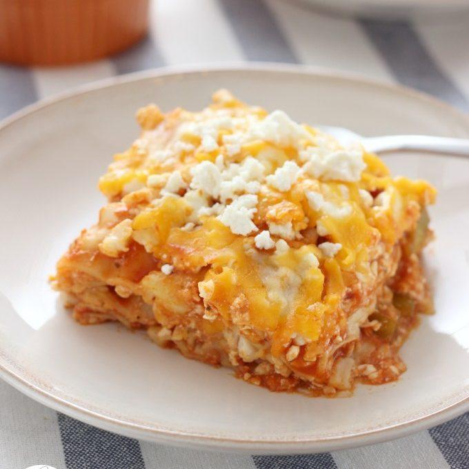 Slow Cooker Buffalo Chicken Lasagna Recipe