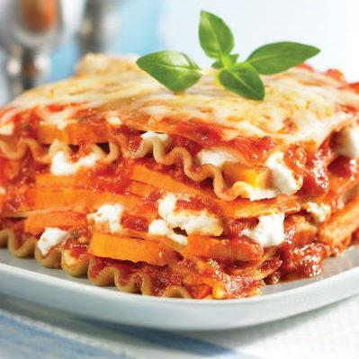 Slow Cooker Sweet Potato Lasagna Recipe