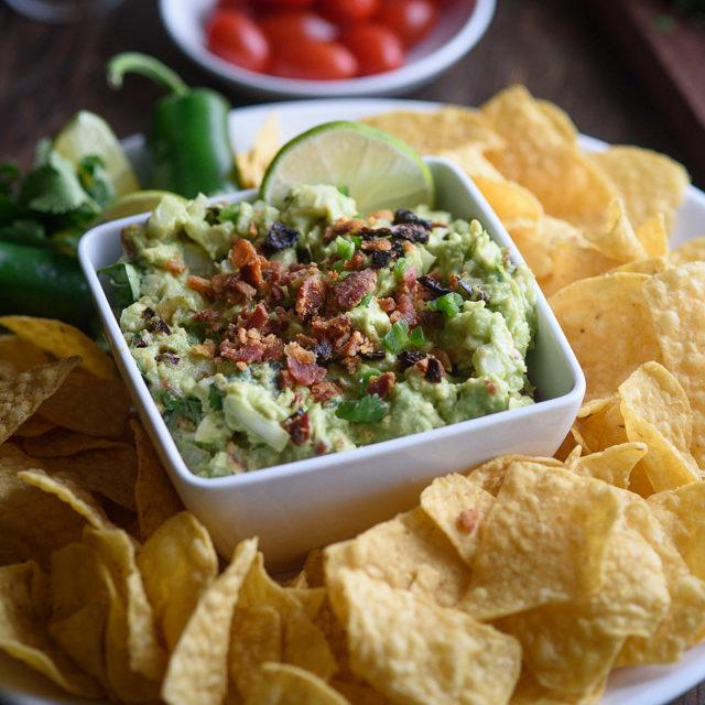 Sun Dried Tomato Bacon Guacamole Recipe