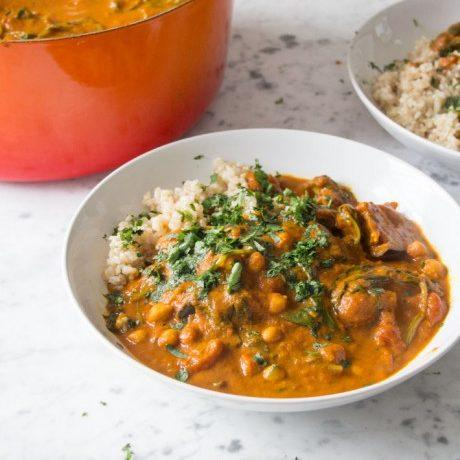 Sweet Potato And Chickpea Stew Recipe