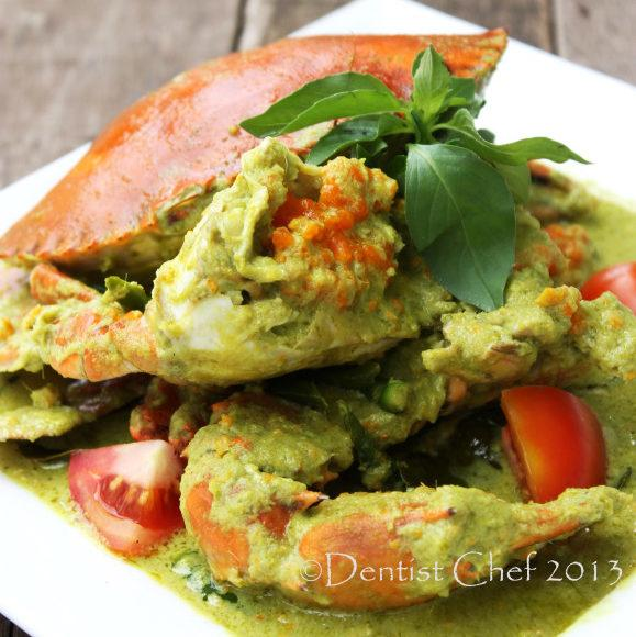 Thai Green Curry Crab