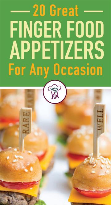 Whether you're throwing a party or having an appetizer before dinner, these finger food appetizer recipes are perfect treats. These are great finger food recipes for any occasion. Be sure to give them a try. #recipes #fingerfoods #FeedingMyKid
